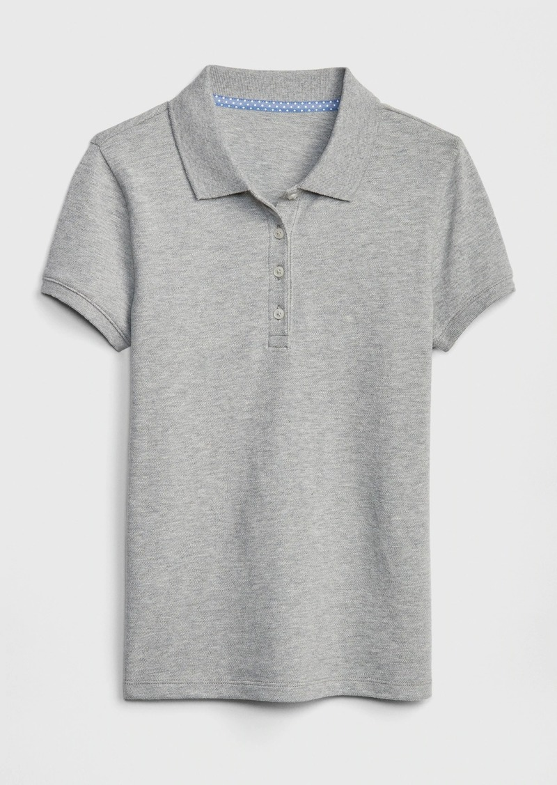 Gap Kids Uniform Stretch Short Sleeve Polo Shirt