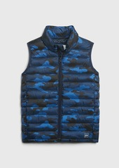 Gap Kids Upcycled Lightweight Puffer Vest