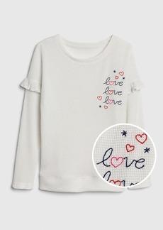 Gap Kids Waffle-Knit PJ T-Shirt