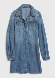 Gap Kids Western Denim Dress