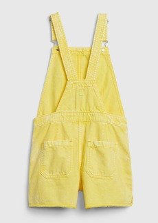 Gap Kids Yellow Denim Shortalls