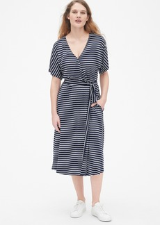 Gap Kimono Sleeve Wrap Dress