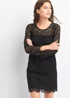 Gap Lace bell-sleeve dress