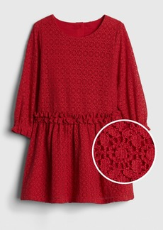 Gap Lace Ruffle Dress