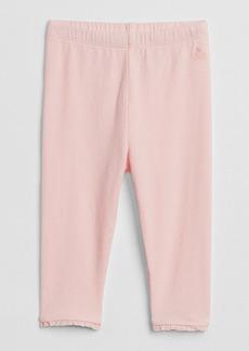 Gap Lace-Trim Leggings