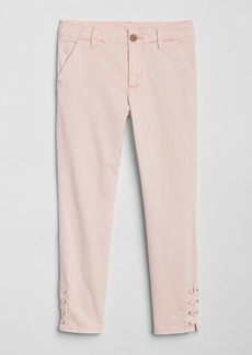 Gap Lace-Up Chinos in Color