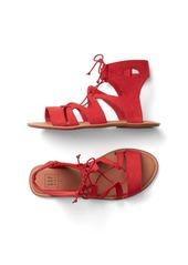 Gap Lace-up strap sandals