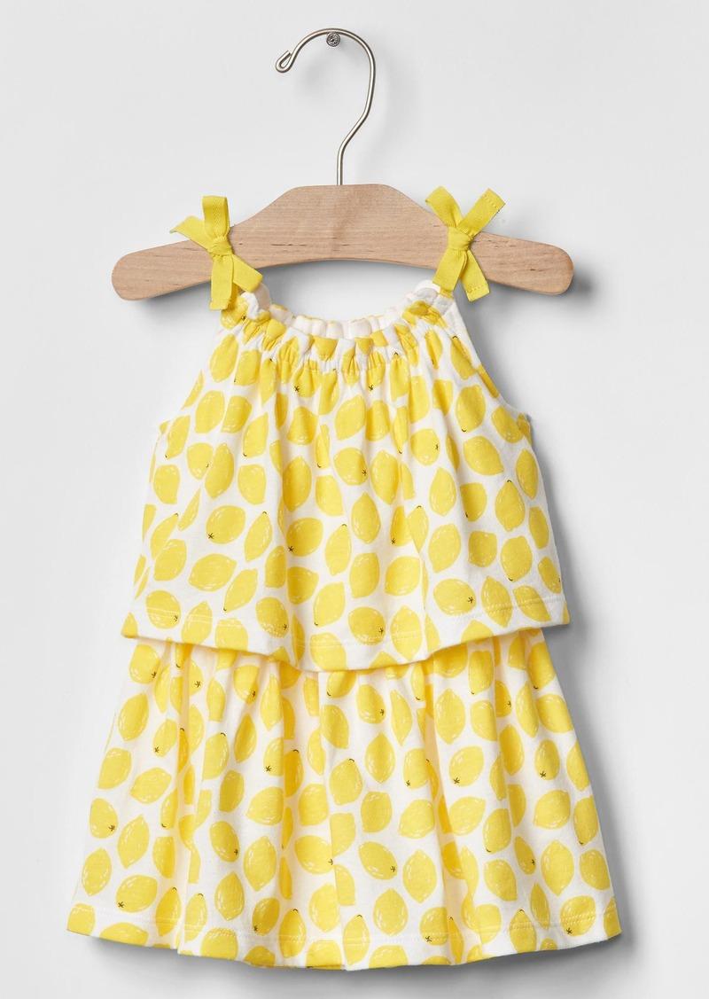 Gap Lemonade two-tier dress