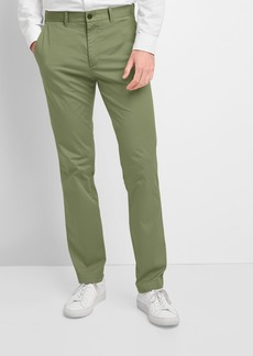 Lightweight Khakis in Straight Fit with GapFlex