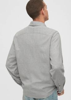 Gap Lightweight Twill Shirt in Untucked Fit