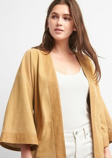 Gap Limited Edition Belted Suede Topper Jacket