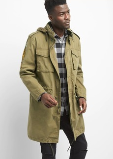 Gap Limited Edition Canvas Patch Military Jacket