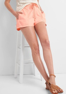 Gap Linen-cotton utility shorts