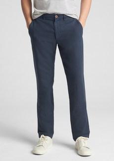 Gap Linen Khakis in Slim Fit