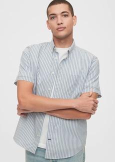 Gap Lived-In Stretch Poplin Shirt