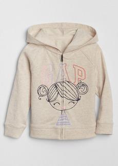 Gap Logo Graphic Hoodie Sweatshirt