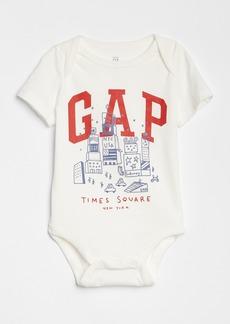 Gap Logo Graphic Short Sleeve Bodysuit
