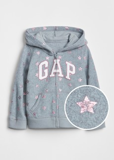 Gap Logo Hoodie Sweatshirt in Heavyweight Fleece