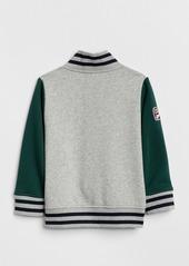 917af3c0b On Sale today! Gap Logo Patch Varsity Jacket