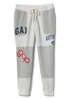 Logo Remix Joggers in French Terry