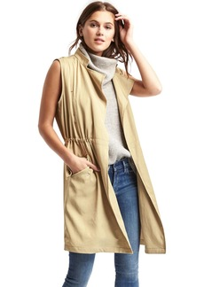 Gap Long TENCEL&#153 trench vest