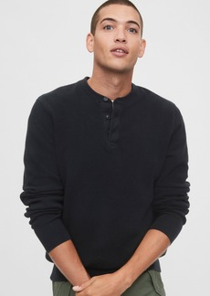 Gap Mainstay Henley Sweater