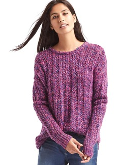 Gap Marled chunky crewneck sweater