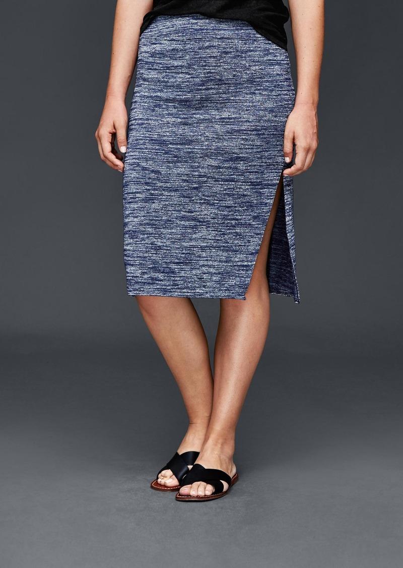 Gap Marled midi skirt