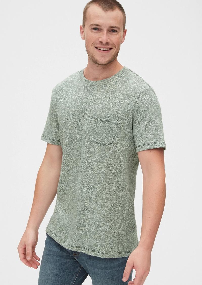 Gap Marled Pocket T-Shirt