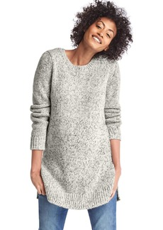 Gap Marled side-slit sweater