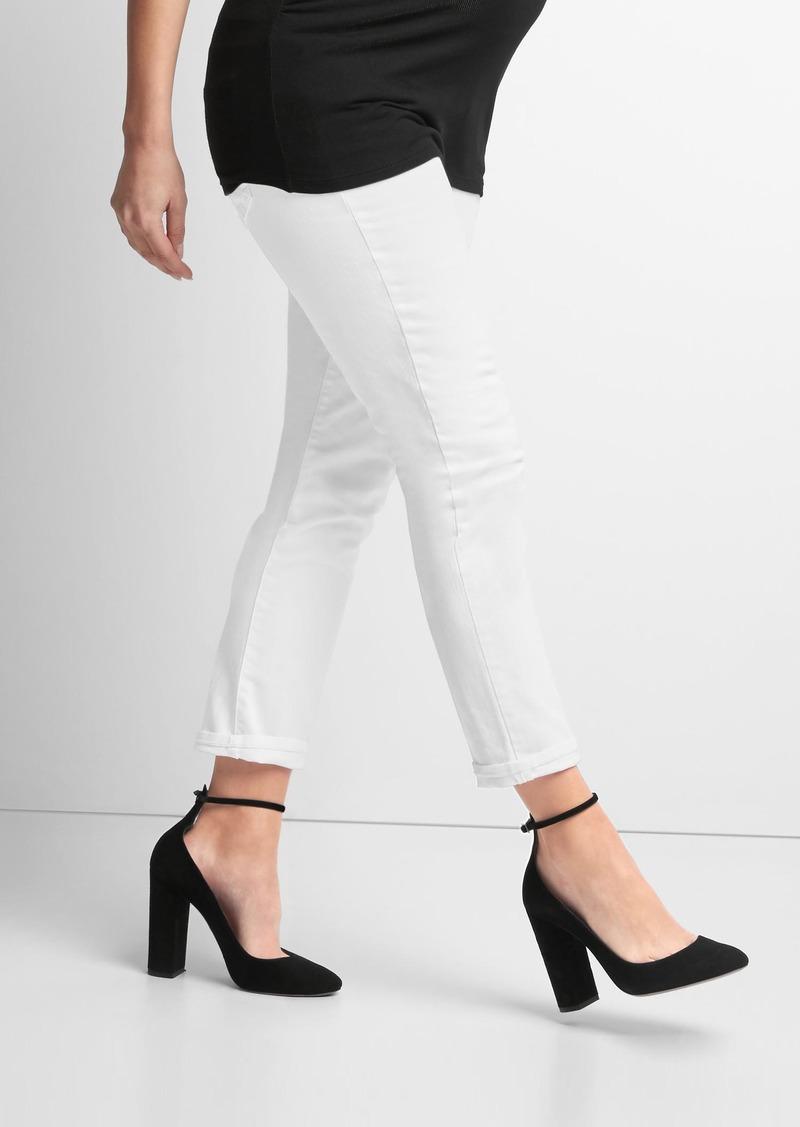 918360762dabf SALE! Gap Maternity demi panel best girlfriend jeans