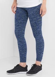 Maternity GapFit Blackout Technology gFast full panel spacedye leggings