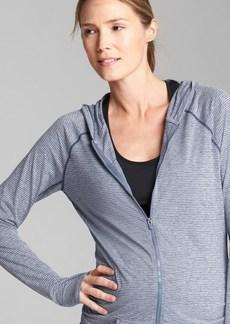 Maternity GapFit Breathe zip hoodie