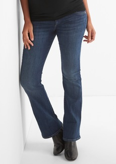 Gap Maternity Inset Panel Perfect Boot Jeans