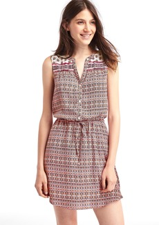 Gap Medallion shirt dress