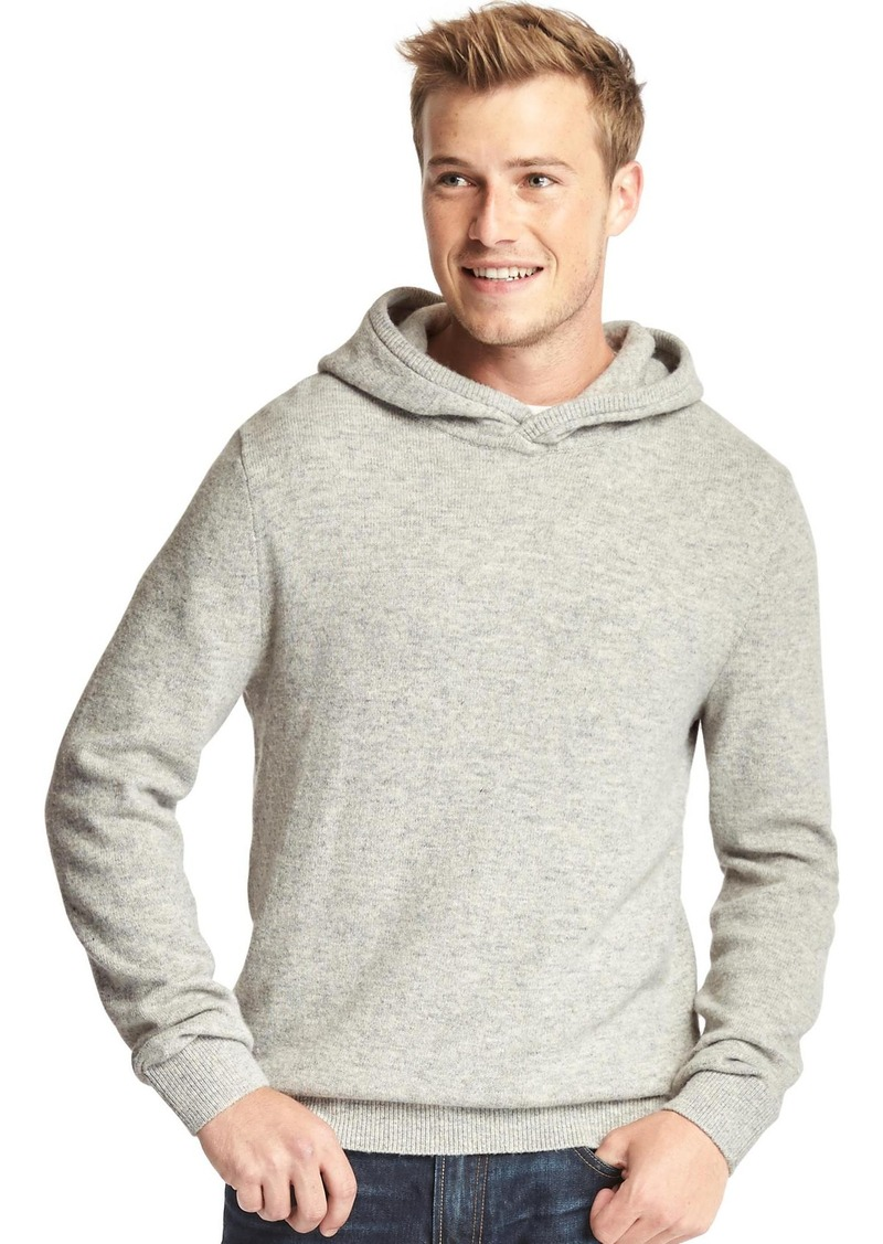 Gap Merino wool blend pullover hoodie | Sweaters - Shop It To Me