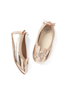 Gap Metallic Cat Ballet Flats