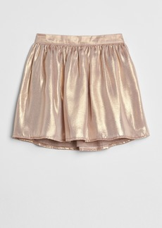 Gap Metallic Flippy Skirt