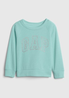 Gap Metallic Glitter Logo Sweatshirt