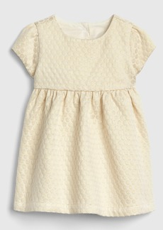 Gap Metallic Jacquard Dress