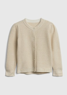 Gap Metallic Thread Cardigan Sweater