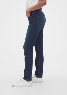 Gap Mid Rise Curvy Classic Straight Jeans