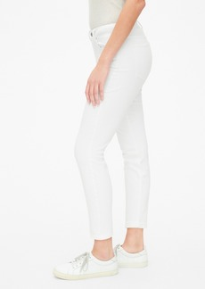 Gap Mid Rise Curvy True Skinny Ankle Jeans