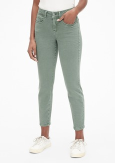Gap Mid Rise Curvy True Skinny Ankle Jeans in Color