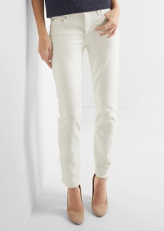 Gap Mid rise real straight jeans