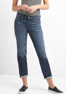 Gap Mid rise TENCEL&#153 relaxed boyfriend jeans