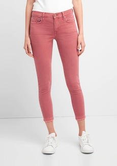 Gap Mid Rise True Skinny Ankle Jeans in Color