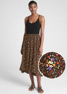 Gap Mix-Fabric Cami Maxi Dress