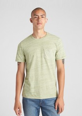 Gap Mix-Fabric Pocket T-Shirt