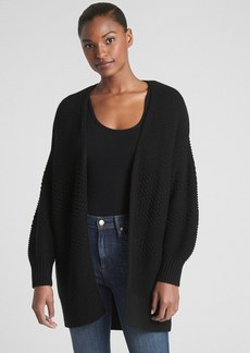 Gap Mix-Knit Cocoon Cardigan Sweater